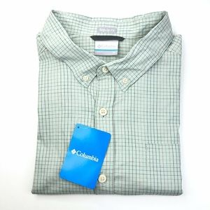 NWT Columbia Short Sleeve Button Front Shirt XL
